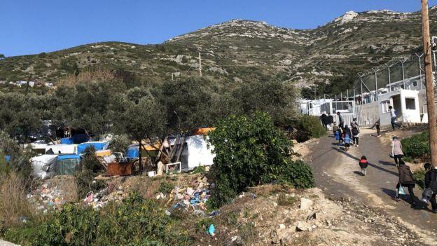 Samos camp
