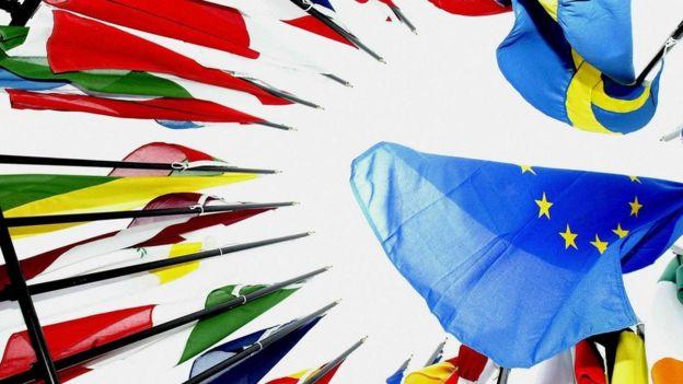 AB üyesi ülke bayrakları