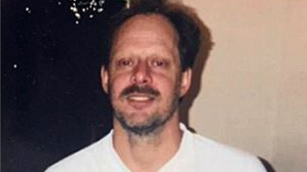 Undated image shows music festival gunman Stephen Paddock