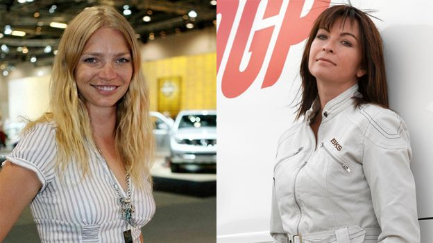 Jodie Kidd and Suzi Perry