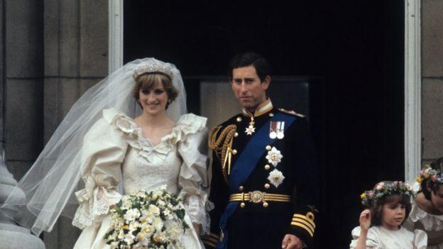 Diana iyo Charles arooskoodii sanadkii 1981