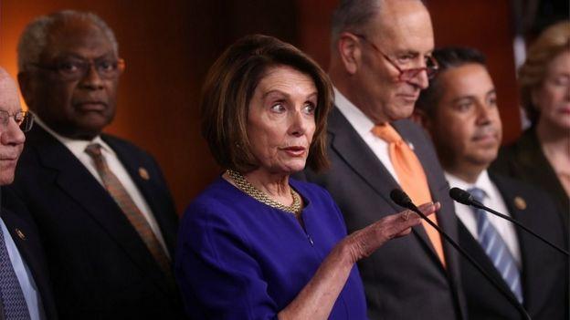 رهبران دموکراتها در کنگره