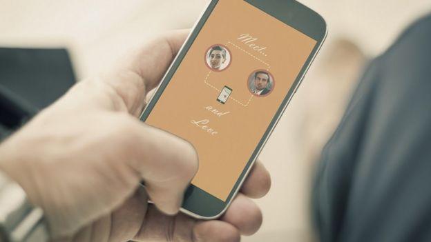 App en teléfono