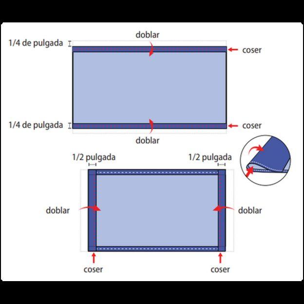 Tela Flair 16 cuenta Aida espacio exterior con destellos 45 X 50cm Pieza