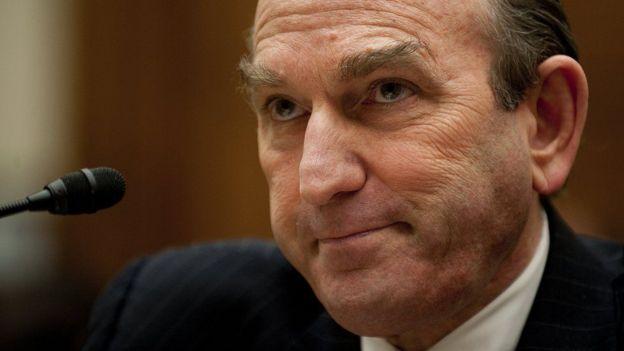 El enviado especial de EE.UU. para Venezuela, Elliott Abrams, en una foto de 2011