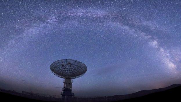Radio telescopes can detect fast radio bursts