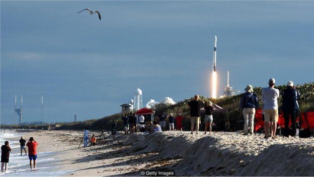 lançamento de nave espacial