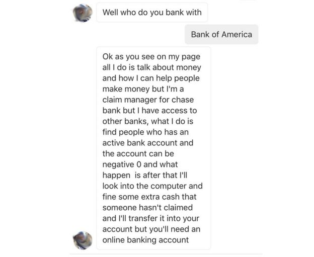 Bank Of America Online Wire Transfer | Instagram Scam Preys On Bank Followers Bbc News