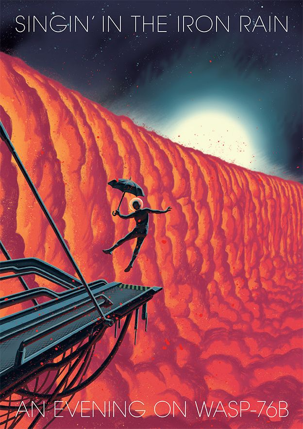 Science-fiction artist's impression