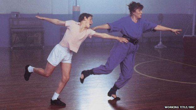Billy Elliot sahnesi