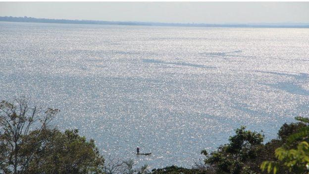 Vista do rio Tapajós desde Santarenzinho
