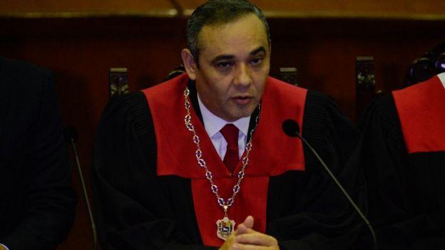 Maikel Moreno, presidente del Tribunal Supremo