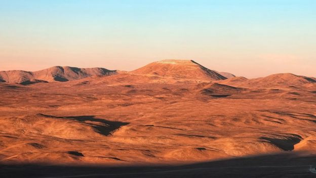 Cerro Armazones al atardecer