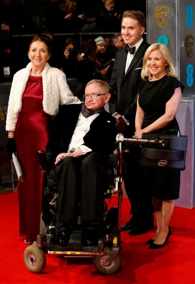 Stephen Hawking y su familia