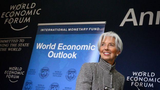 Giám đốc IMF Christine Lagarde tham dự Davos 2019