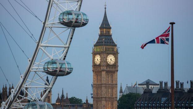 Torre del parlamento británico