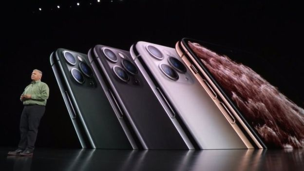Apple unveiled the iPhone 11 pro on Tuesday