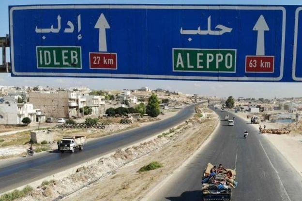 Şam-Halep otoyolu
