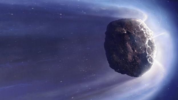 Comet artwork