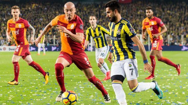Galatasaray Fenerbahce macı