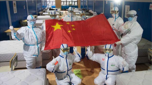 3月10日,武汉市武昌方舱医院病人已全部出院