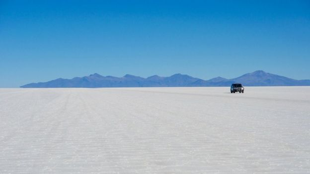 Salar De Uyuni. Bolivia