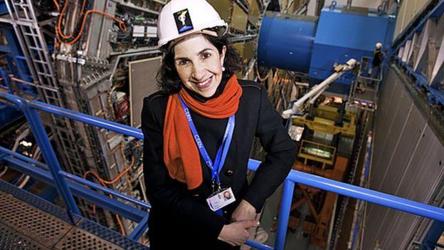 فابیولا جیانوتی، از چهره های ممتاز فیزیک ذرات در دوران معصر