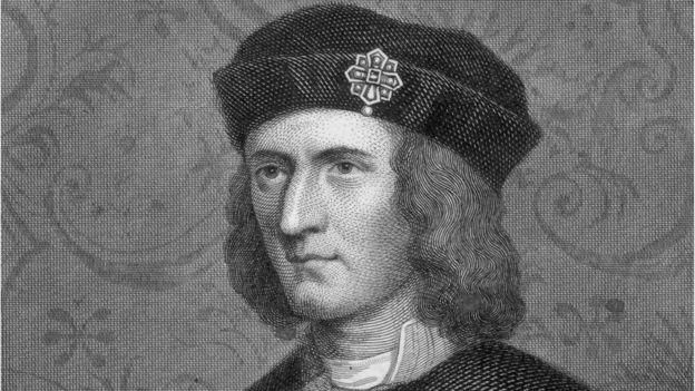 Ричард III, король Англии (портрет неизвестного художника, около 1480 г.)
