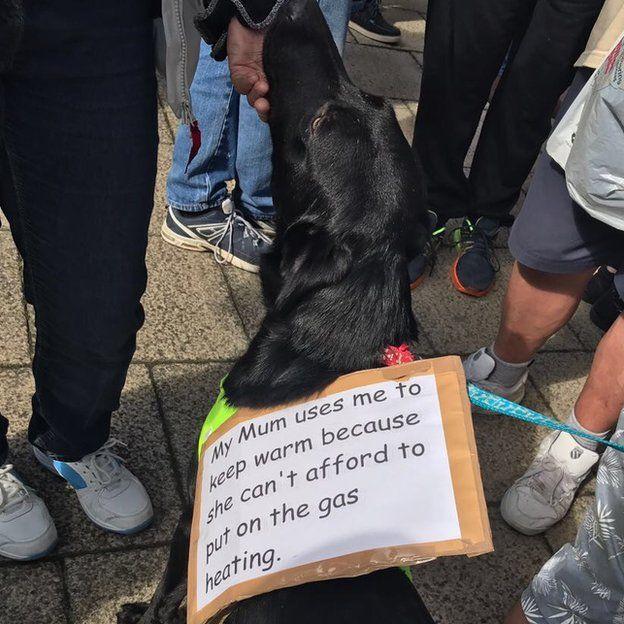 Manx Gas protest
