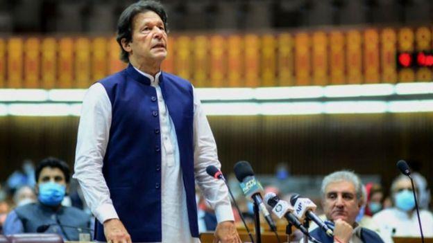 کورونا، عمران خان
