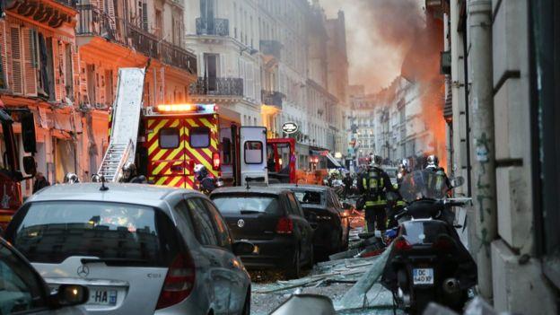 بعد الانفجار