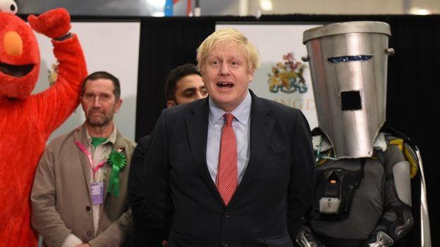Boris Johnson, menang, Pemilu Inggris