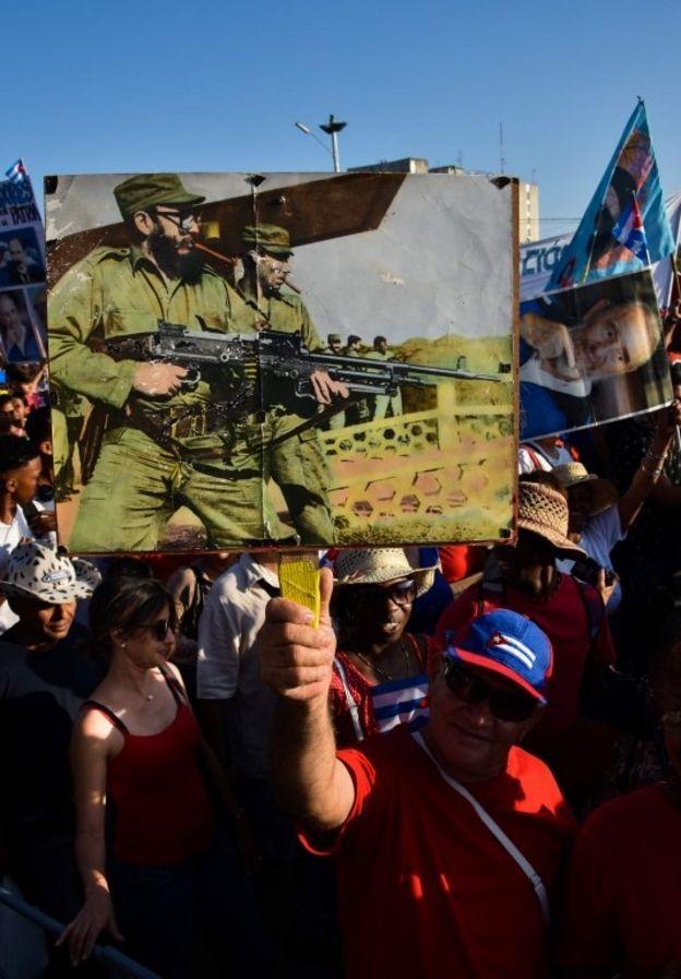 روز جهانی کارگر در هاوانا پایتخت کوبا
