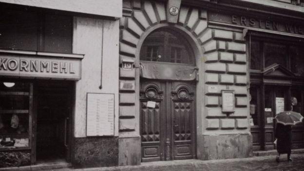 Дом, где жил Фрейд в Вене до июня 1938 года.