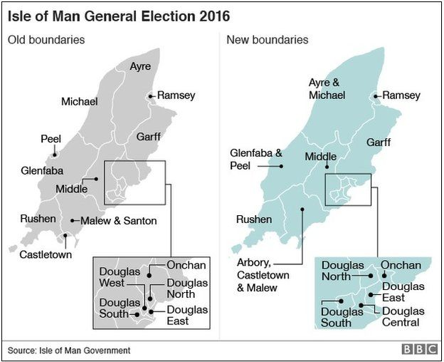 Isle Of Man General Election Results BBC News - Bbc election map us