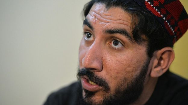 Manzoor Pashteen, leader of the Pashtun Protection Movement