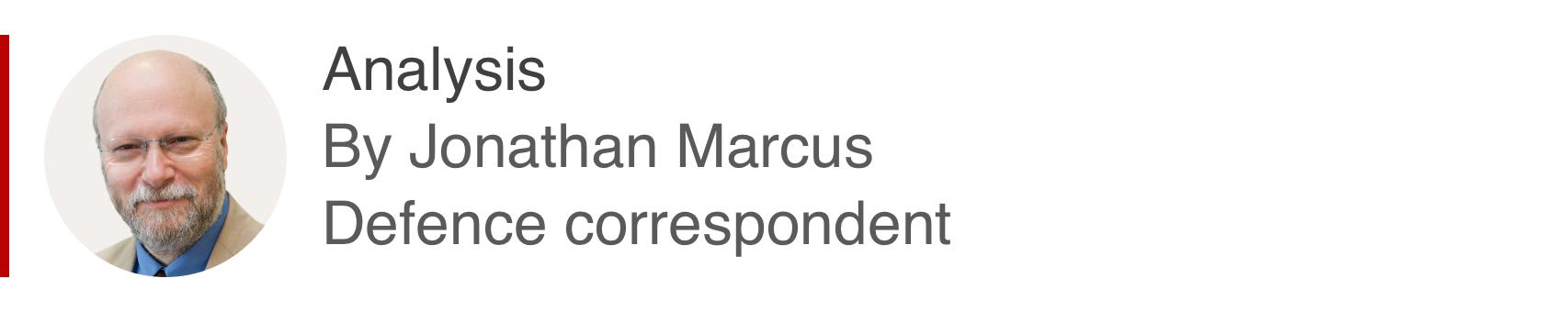 国防记者Jo<em></em>nathan Marcus的分析框