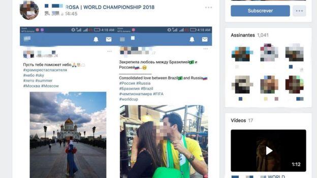 Página de rede social