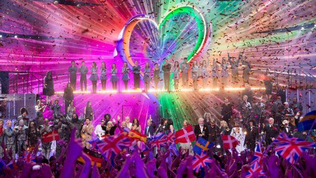 Eurovision finale