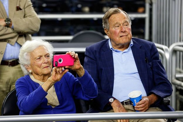 Barbara y George H.W. Bush