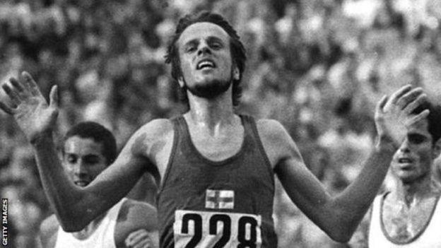 Mwanariadha wa Finland Lasse Viren
