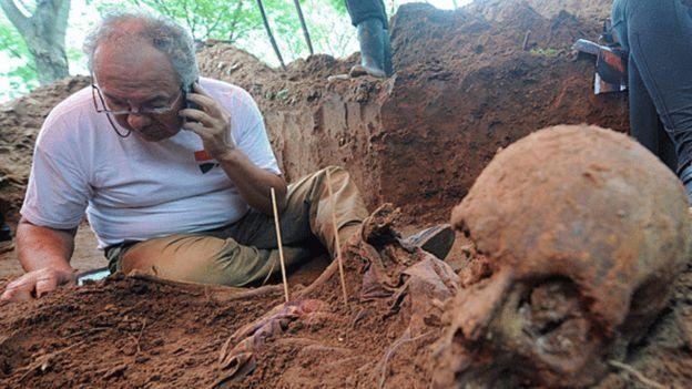 Em 30 anos, apenas 37 corpos de desaparecidos foram encontrados e, destes, apenas quatro foram identificadas