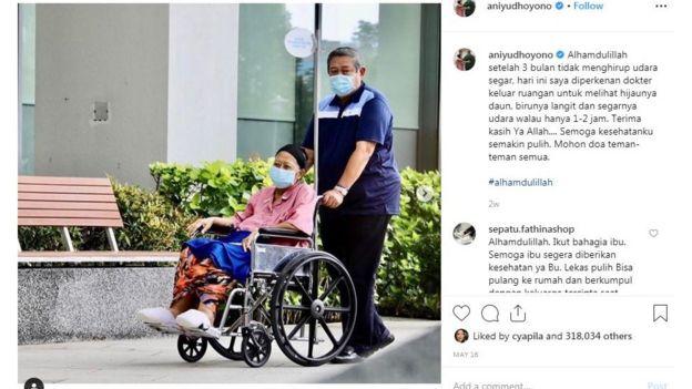 Instagram/Ani Yudhoyono