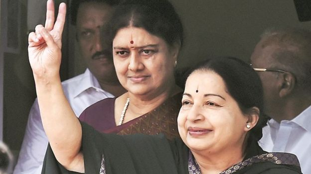 Sasikala and Jayalalitha
