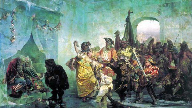 """Ледяной дом"", картина Валерия Якоби"