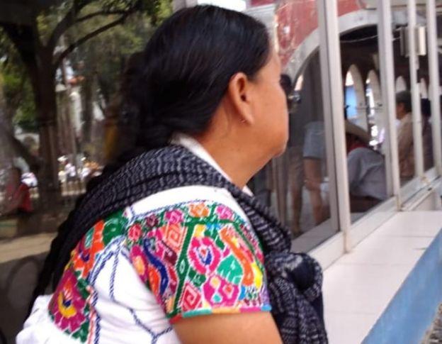 Mujer indígena.