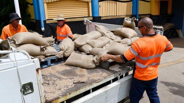 Queensland is preparing for a destructive cyclone