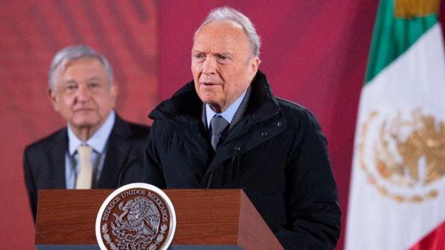Alejandro Gertz y Andrés Manuel López Obrador