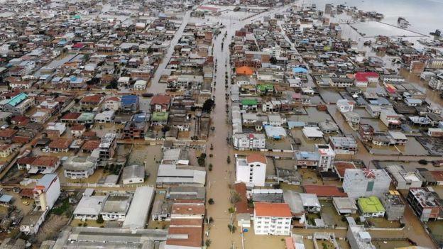 عکس؛ استان گلستان در محاصره سیل
