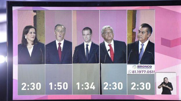 ec823ff854ba El debate presidencial ha sido uno de los más vistos en México.